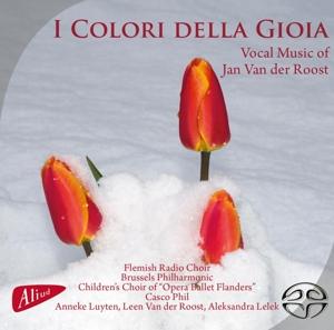 CD Shop - FLEMISH RADIO CHOIR I COLORI DELLA GIOIA