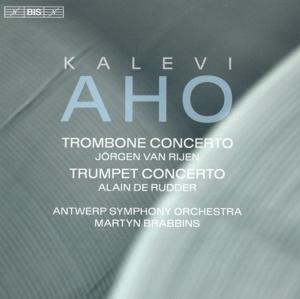 CD Shop - AHO, K. TROMBONE CONCERTO/TRUMPET CONCERTO