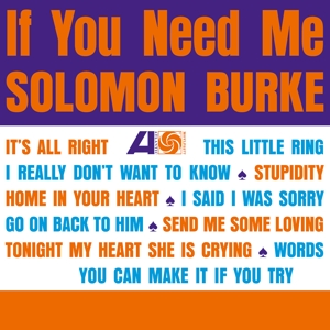 CD Shop - BURKE, SOLOMON IF YOU NEED ME