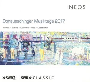 CD Shop - REMIX ENSEMBLE /ENSEMBLE DONAUESCHINGER MUSIKTAGE 2017