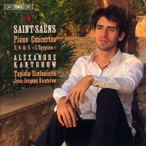 CD Shop - SAINT-SAENS, C. Piano Concertos Nos.3-5