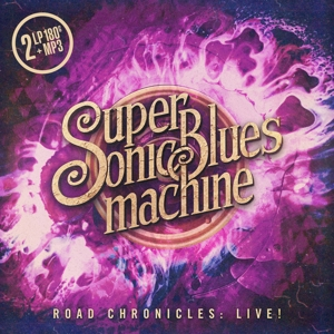 CD Shop - SUPERSONIC BLUES MACHINE ROAD CHRONICLES:LIVE!