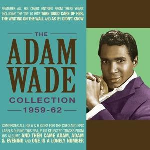 CD Shop - WADE, ADAM ADAM WADE COLLECTION 1959-62