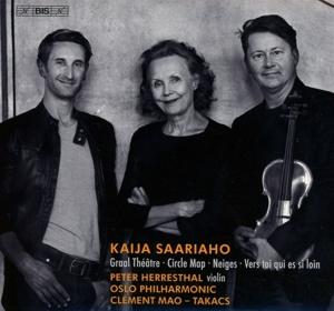 CD Shop - SAARIAHO, K. Circle Map, Graal Theatre & Other Works