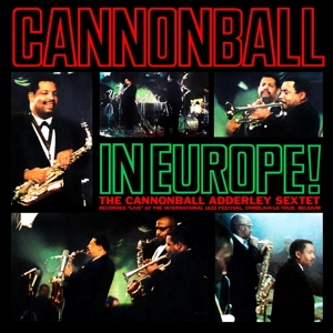 CD Shop - ADDERLEY, CANNONBALL CANNONBALL IN EUROPE!