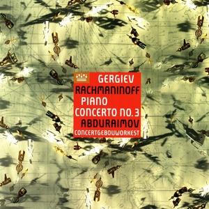 CD Shop - ABDURAIMOV, BEHZOD RACHMANINOFF: PIANO CONCERTO NO.3