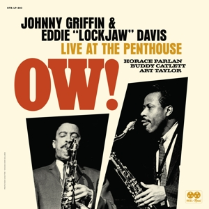 "CD Shop - ""GRIFFIN, JOHNNY & EDDIE """"LOCKJAW"""" DAVIS"" OW! LIVE AT THE PENTHOUSE (1962)"
