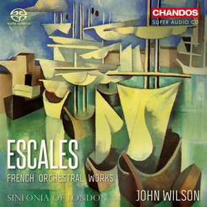 CD Shop - SINFONIA OF LONDON Escales - French Orchestral Works