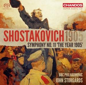 CD Shop - BBC PHILHARMONIC Shostakovich 1905: Symphony No.11 the Year 1905
