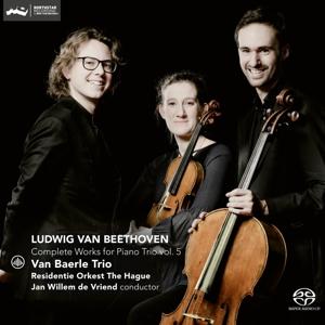 CD Shop - VAN BAERLE TRIO Beethoven: Complete Works For Piano Trio Vol.5