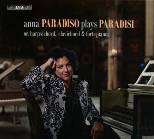CD Shop - PARADISO, ANNA Plays Paradisi