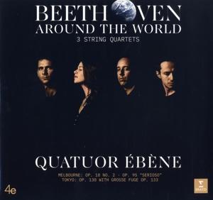 CD Shop - QUATUOR EBENE BEETHOVEN AROUND THE WORLD