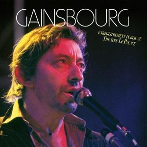 CD Shop - GAINSBOURG, SERGE ENREGISTREMENT PUBLIC AU THEATRE LE PALACE