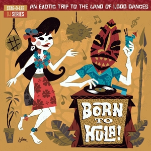 CD Shop - V/A BORN TO HULA!