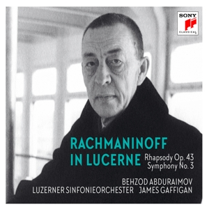 CD Shop - ABDURAIMOV, BEHZOD & LUZE RACHMANINOFF IN LUCERNE - RHAPSODY ON A THEME OF PAGANI