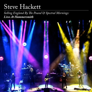 CD Shop - HACKETT, STEVE SELLING ENGLAND BY THE POUND & SPECTRAL MORNINGS: LIVE AT HAMMERSMITH