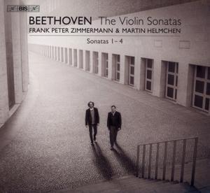 CD Shop - ZIMMERMANN, FRANK PETER & MARTIN HELMCHEN Beethoven: Violin Sonatas 1-4