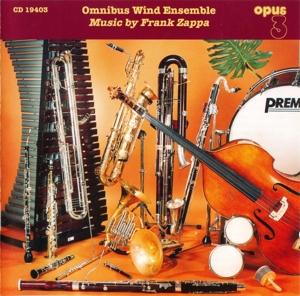 CD Shop - OMNIBUS WIND ENSEMBLE Music By Frank Zappa