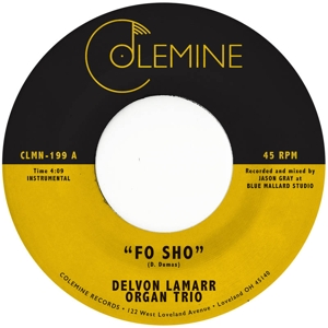 CD Shop - LAMARR, DELVON -ORGAN TRI 7-FO SHO