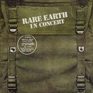 CD Shop - RARE EARTH IN CONCERT