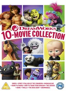 CD Shop - ANIMATION DREAMWORKS 10-MOVIE COLLECTION