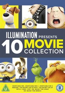 CD Shop - ANIMATION ILLUMINATION PRESENTS: 10-MOVIE COLLECTION