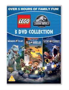 CD Shop - ANIMATION LEGO JURASSIC WORLD: TRIPLE COLLECTION