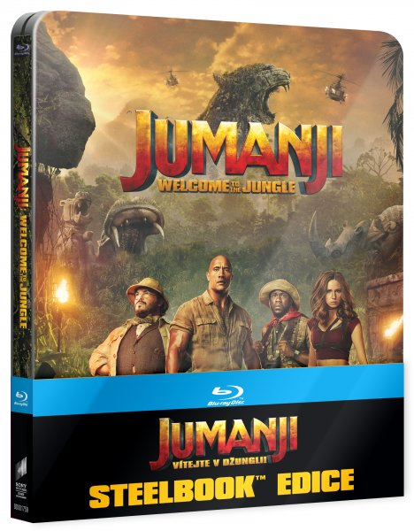 CD Shop - JUMANJI: VíTEJTE V DžUNGLI! (STEELBOOK US ARTWORK)