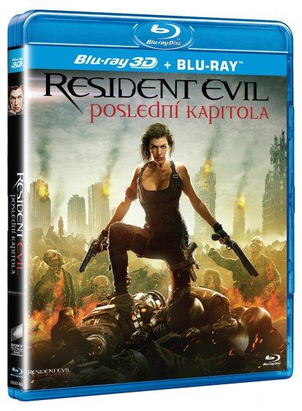 CD Shop - RESIDENT EVIL: POSLEDNí KAPITOLA 3D + 2D