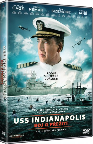CD Shop - USS INDIANAPOLIS: BOJ O PřEžITí