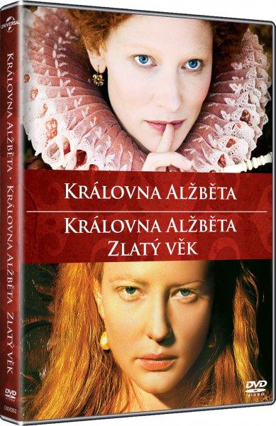 CD Shop - KRáLOVNA ALžBěTA / KRáLOVNA ALžBěTA: ZLATý VěK (KOLEKCE, 2 DVD)