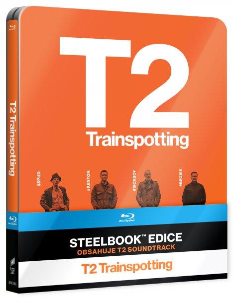 CD Shop - T2 TRAINSPOTTING STEELBOOK (2 DISKY, CD SOUNDTRACK)