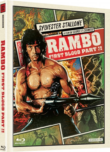 CD Shop - RAMBO 2 (DIGIBOOK)