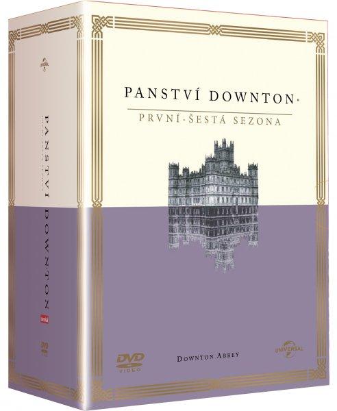 CD Shop - PANSTVí DOWNTON 1-6 (23 DISKů)