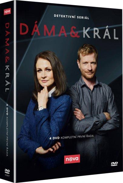 CD Shop - DáMA A KRáL 1.-2. SéRIE (SERIáL, 6 DVD)