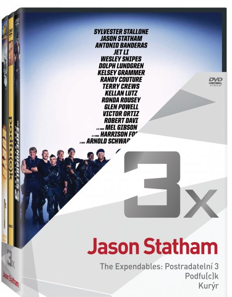 CD Shop - 3DVD JASON STATHAM