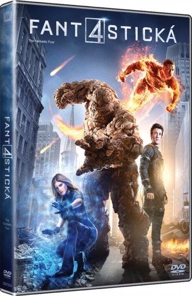 CD Shop - FILM FANTASTICKA CTYRKA (2015) DVD