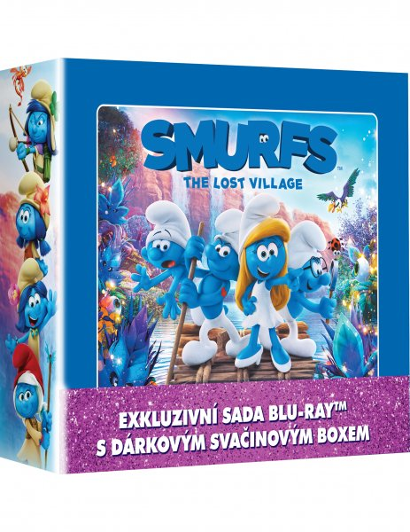 CD Shop - 3 BD ŠMOULOVé 1-3 LUNCH BOX (3X BLU-RAY + BOX)