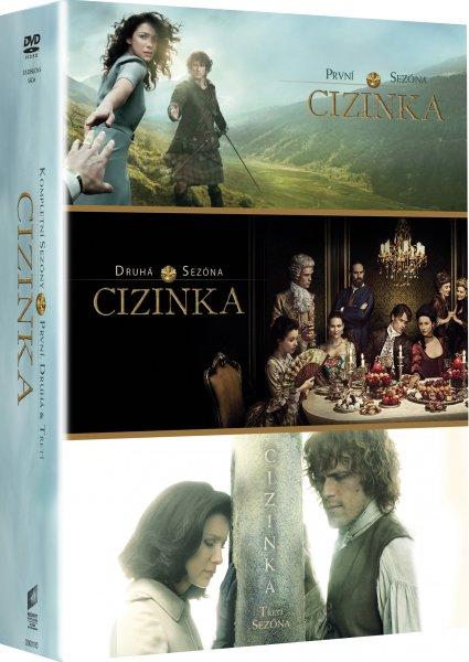 CD Shop - CIZINKA 1. - 3. SéRIE (16 DVD) LIMITOVANá EDICE