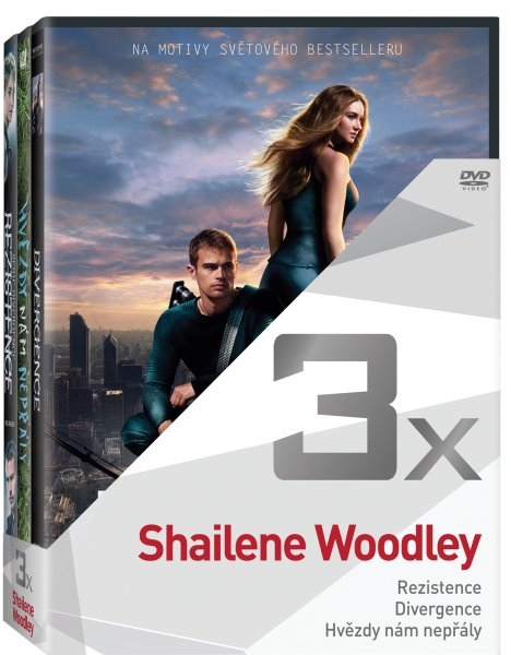 CD Shop - 3DVD SHAILENE WOODLEY