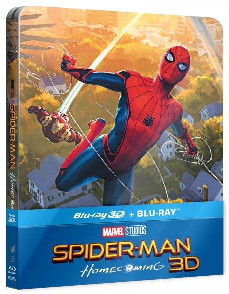CD Shop - SPIDER-MAN: HOMECOMING (STEELBOOK, 2 DISKY)