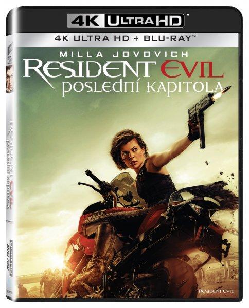 CD Shop - RESIDENT EVIL: POSLEDNí KAPITOLA UHD + BD