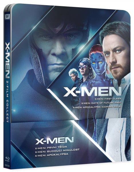 CD Shop - X-MEN PREQUEL STEELBOOK (X-MEN: PRVNí TříDA, BUDOUCí MINULOST + POZICE X-MEN: APOKALYPSA)