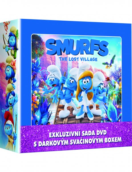CD Shop - 3 DVD ŠMOULOVé 1-3 LUNCH BOX (3X DVD + BOX)
