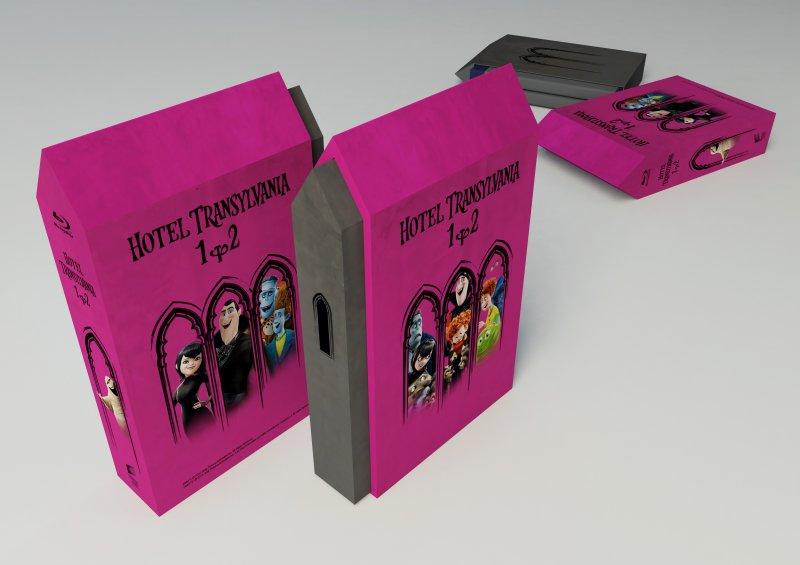 CD Shop - HOTEL TRANSYLVáNIE 1+2 (LIMITOVANý SBěRATELSKý BOX)