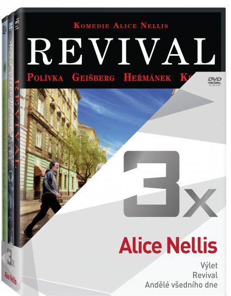 CD Shop - 3DVD ALICE NELLIS