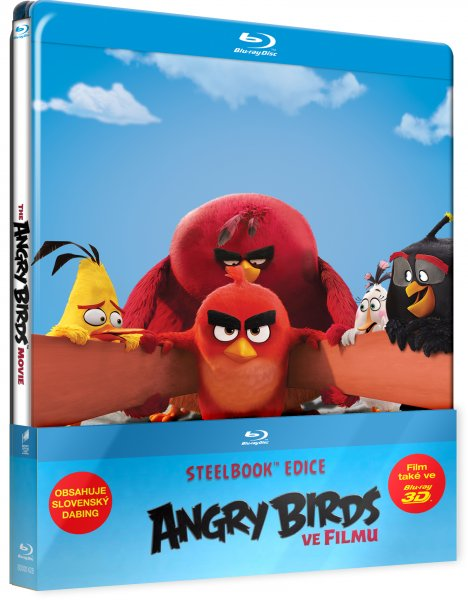 CD Shop - ANGRY BIRDS VE FILMU (STEELBOOK)