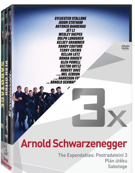 CD Shop - 3DVD A. SCHWARZENEGGER