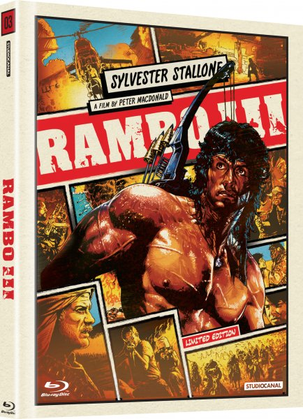 CD Shop - RAMBO 3 (DIGIBOOK)
