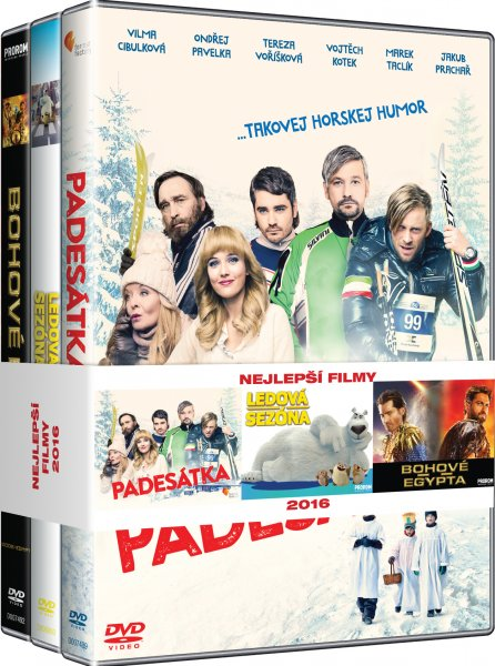 CD Shop - 3DVD NEJLEPší FILMY RODINA (PADESáTKA, LEDOVá SEZóNA, BOHOVé EGYPTA)